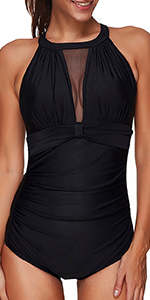 tummy control swimsuit for women