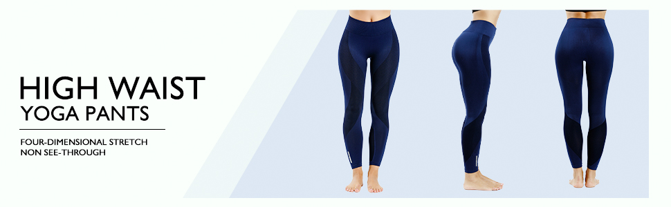 Amazon.com: Mallas de yoga sin costuras NonEcho para mujer ...