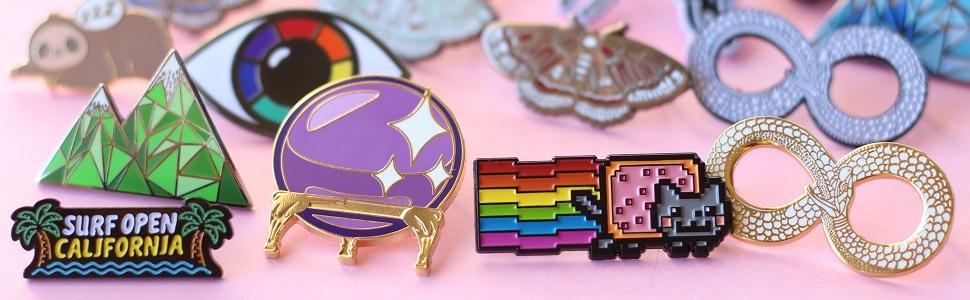 Real sic - enamel-pin-pins-lapel pin -jacket pin