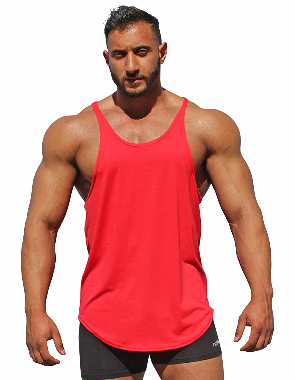 43b7e3e423118 Physique Bodyware Original Men s Y Back Stringer Tank Tops Made in America  For Over 27 Years