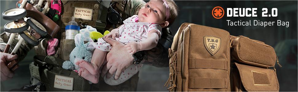 Tactical Baby Gear Tactical Diaper Bag Deuce 2.0