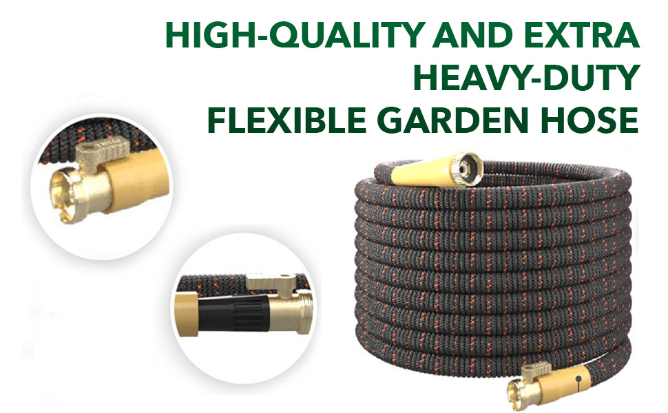EXTRA HEAVY-DUTY FLEXIBLE Garden Hose