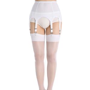 White Garter Belt