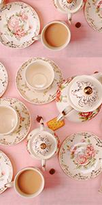China Porcelain Teapot Set-15 pcs