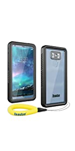 new concept ab267 a4317 Amazon.com: Temdan LG G6 Waterproof Case with Floating Strap Built ...