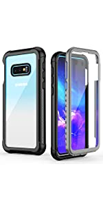 Amazon.com: Temdan Samsung Galaxy S10 Case, Built-in Screen ...