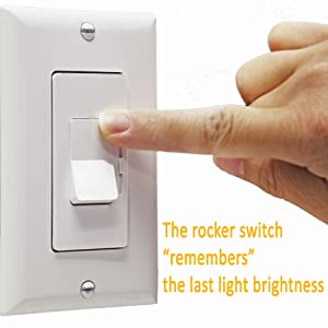 Enerlites LED Dimmer Switch 3 Way Dimmer Switch Universal Lighting
