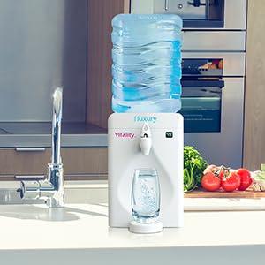 little luxury, filtered water, fresh, healthy, kitchen, new, fruit, appliance, tabletop