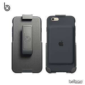 נרתיק קליפ מקרה סוללה חגור חכם תפוח עבור iPhone 6 6s 7 עטוף beltron החובה רגלית כבדה