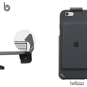 במקרה סוללה נרתיק חגורה קליפ חכם תפוח עטוף beltron רגלית iPhone 6 6s 7 במקרה חכם