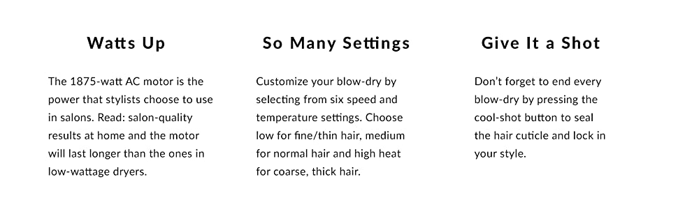 1875 watt ac motor power stylists choose in salons quality results at home long lasting customize