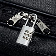 Locking Zippers black