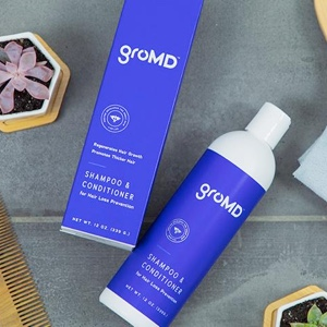 gromd hair loss prevention shampoo and conditioner