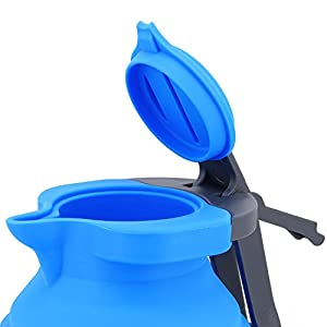 locking lid kettle for camping