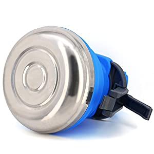 steel silicone camping kettle