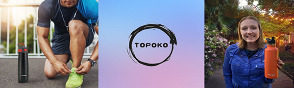 topoko insulated water bottles