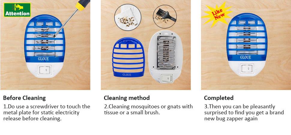 Amazon Com Gloue Bug Zapper Electronic Insect Killer