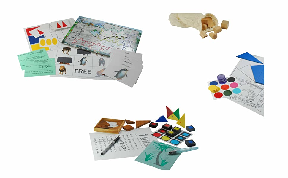 Keeping Busy - Activities, Games and Puzzles Created for People with Dementia and Alzheimer's