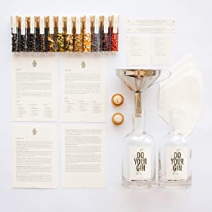 cocktail kit cooking gin and tonic gifts infusion kit spice set spices and seasoning vodka gifts
