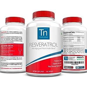 Resveratrol Anti aging Heart Health