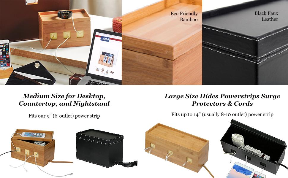 Amazon.com: G.U.S. Cable Box Management Organizer: Hides Power ...