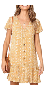 floral dresses for women short t shirt dresses for women plus size summer dress with sleeves