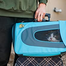 cat carrier pet dog carriers for small dogs airline approved medium cats travel bag sherpa kennel