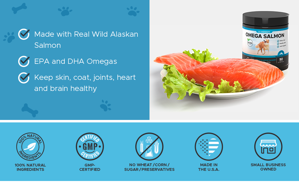 PetHonesty Omega Salmon Snacks
