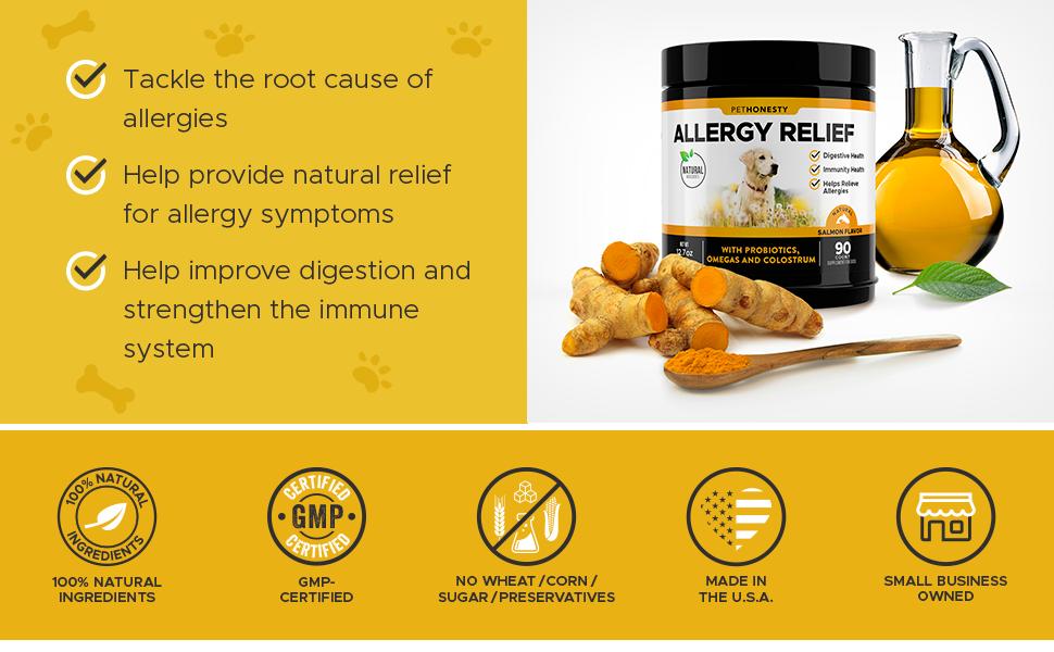 PetHonesty Allergy Relief Snacks