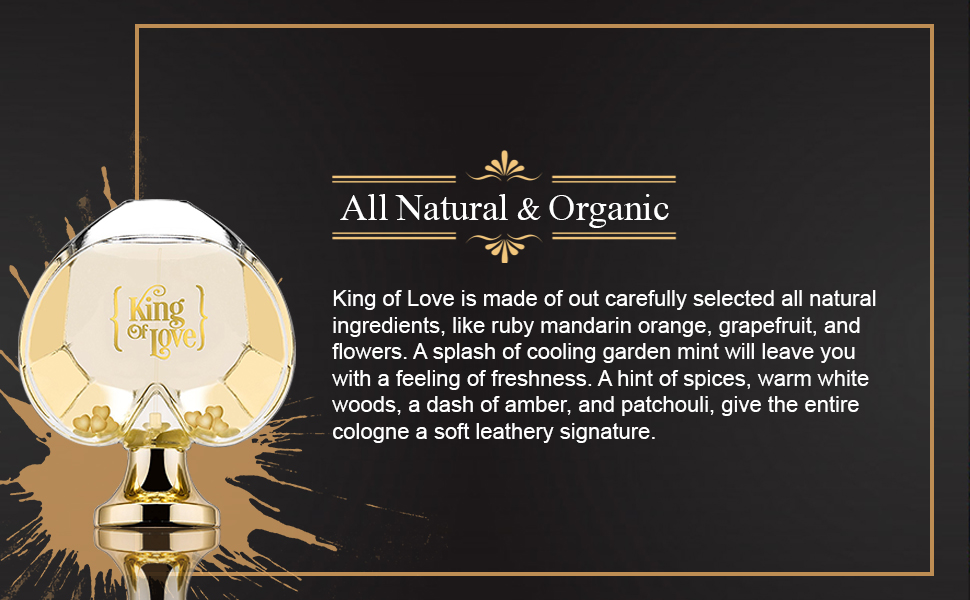 King of love makes the perfect gift for men.