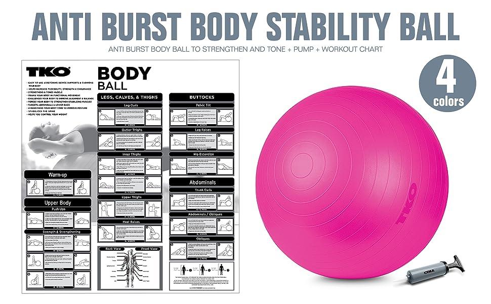 Stability Anti Burst Ball TKO