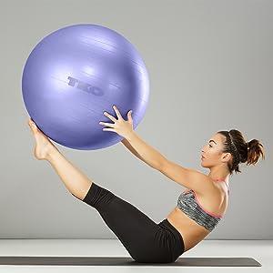 TKO Anti Burst Body Ball to Strengthen and Tone