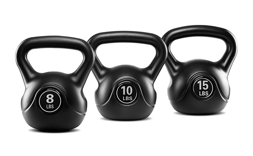 TKO Kettle Bell with Plastic Coating