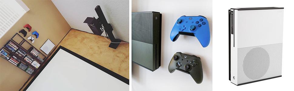 Amazon.com: HIDEit X1S Mount (Black) - Xbox One S Wall