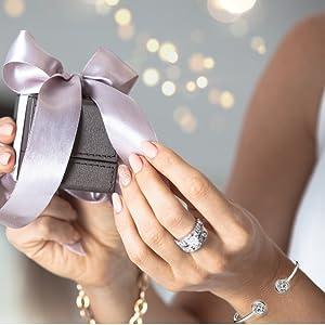 best friends sister mother daughter fashion classic elegant charm bangle bracelets multi layer