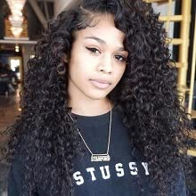 Synthetic lace front wigs for black women lace Frontal Wigs with Baby Hair Synthetic lace front wigs