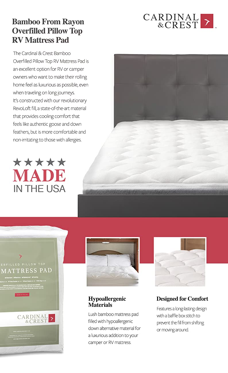 product description - Short Queen Mattress