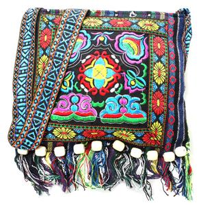women blue bag,bohemian crossbody bag,bohemian bag,boho bag