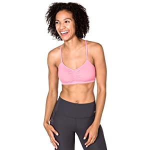 cff3d114c9 Handful Women s Adjustable Sports Bra with Removable Pads