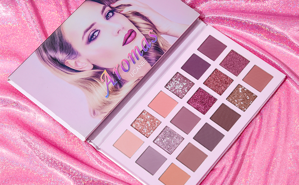 New nude aromas eyeshadow palette