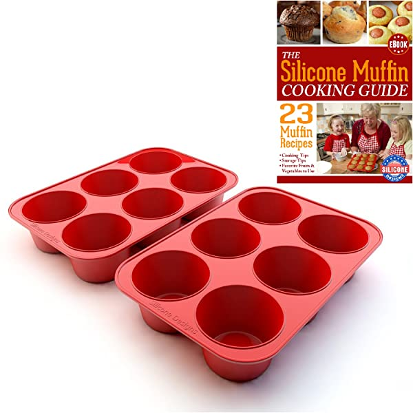 Amazon.com: Silicone Texas Muffin Pans and Cupcake Maker