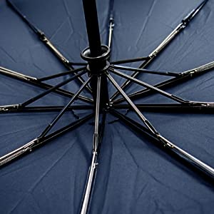 10 Sturdy Ribs Umbrella Battle Strong Wind and Heavy Rain