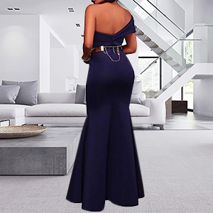 navy blue party dresses for women