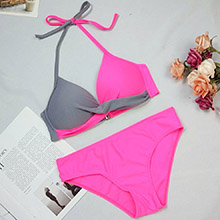 padded bikini set