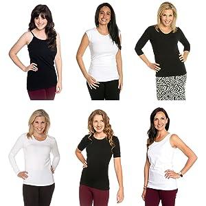 straps jockey spaghetti strap xl women's slimming length womans opaque shapewear hanes modal camis v