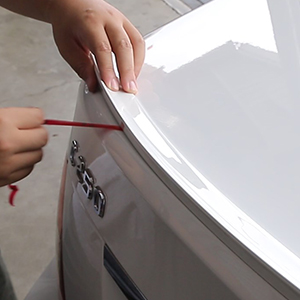 FYRALIP Painted Factory Print Code Trunk Lip Wing Spoiler For 1995-2003 BMW 5-Series E39 Sedan M5 Fast Delivery Easy Installation Perfect Fit 472 Sterling Pearl Gray Metallic