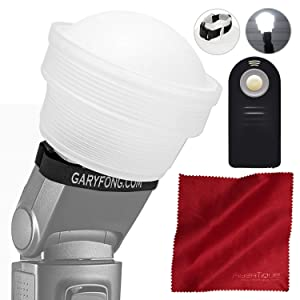 Gary Fong Lightsphere Collapsible with Speed Mount (Generation 5) for Nikon