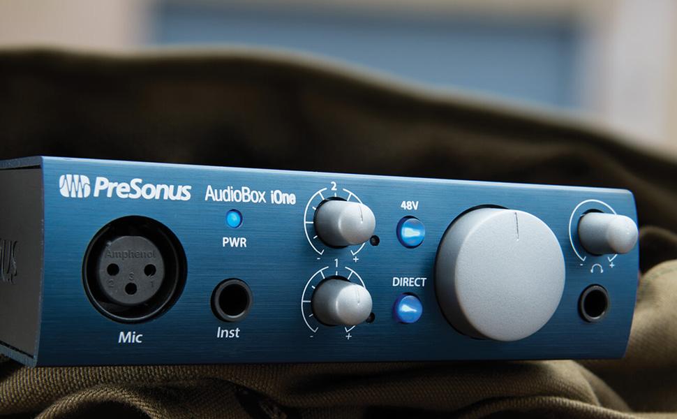 presonus audiobox ione