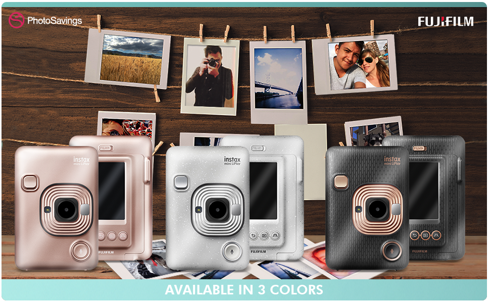 Fujifilm INSTAX Hybrid Mini LIPLAY