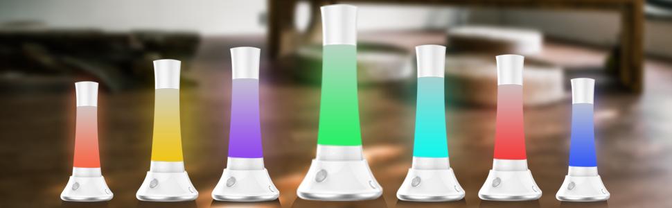 Amazon.com: Lámpara de mesa, lámpara de noche BIAL ...